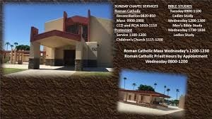 Station Chapel- MCAS Yuma