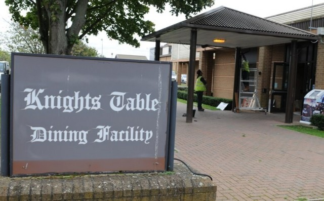Knight's Table Dining Facility - RAF Lakenheath