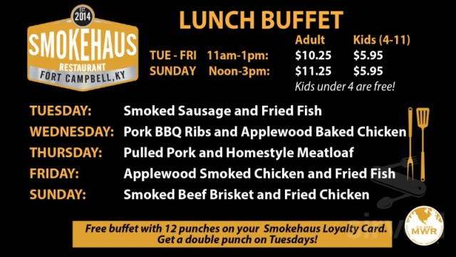 Smokehaus Restaurant - Fort Campbell