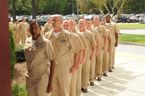 Prospective Chief Petty Officer Training- NAS Oceana