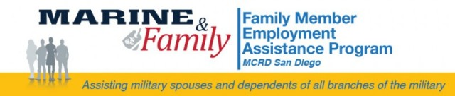 Family Member Employment Assistance Program- MCRD San Diego