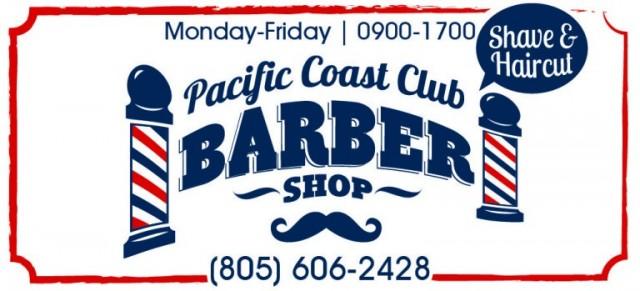 Vandenberg AFB - Pacific Coast Club Barber Shop