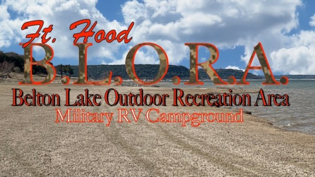 Belton Lake Outdoor Recreation Area (BLORA) - Fort Hood
