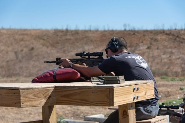 Recreational Shooting- Camp Pendleton