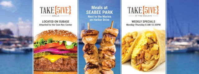 Take {5IVE} Grille - Naval Base Point Loma