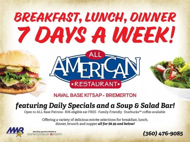 All American Restaurant - Naval Base Bremerton