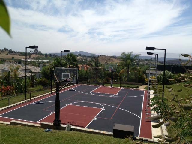Tennis and Basketball Court - Naval Base Point Loma
