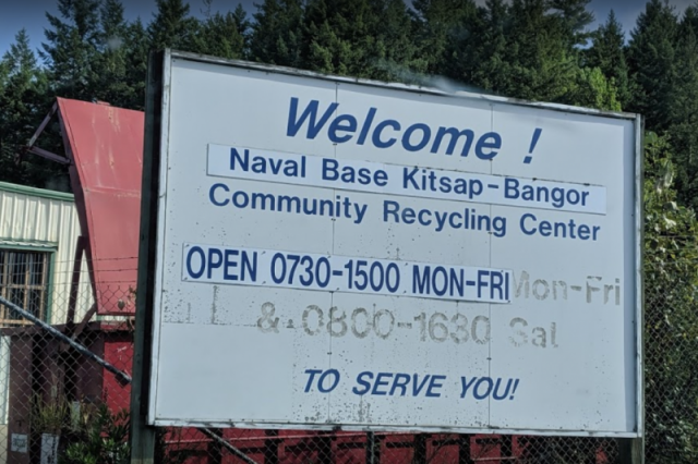 Naval Base Kitsap Bangor - Recycling Center