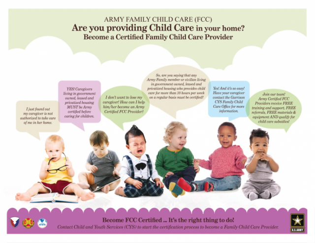 Family Child Care - Fort Stewart