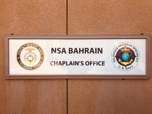 Chaplain and Religious Services - NSA Bahrain