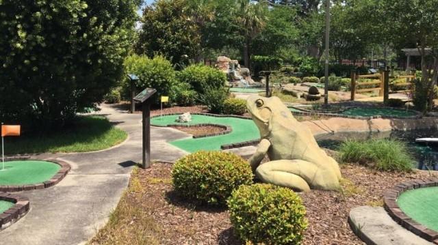 Cypress Creek Adventure Golf - Fort Stewart