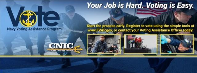Navy Voting - NAS Jacksonville