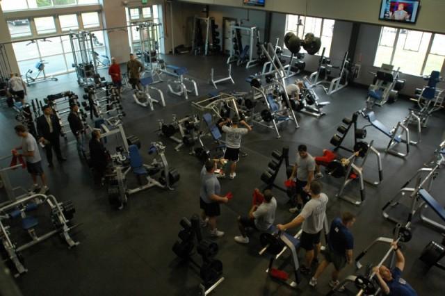 Fitness Center - MCRD Parris Island