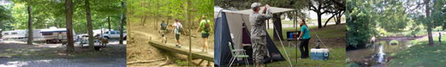 Camping (RV Parks, Cabins and Pavilions) - Fort Campbell
