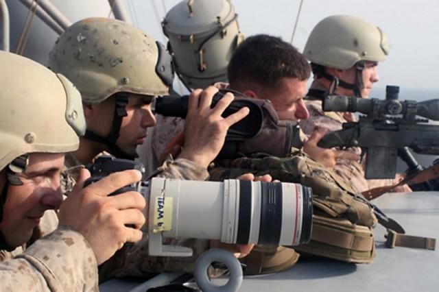 Combat Camera (COMMSTRAT) - MCRD Parris Island