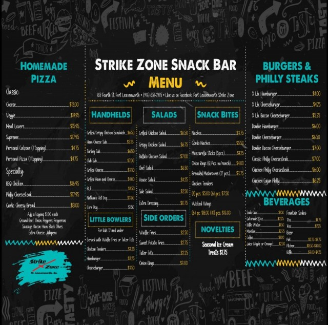 Strike Zone Snack Bar and Grill - Fort Carson