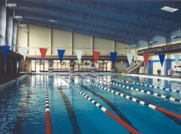 Replica Indoor Pool - Fort Bliss