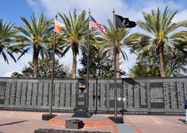 Veterans Memorial Wall - Jacksonville