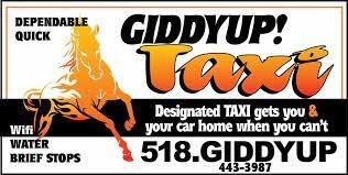 GiddyUp Saratoga Taxi
