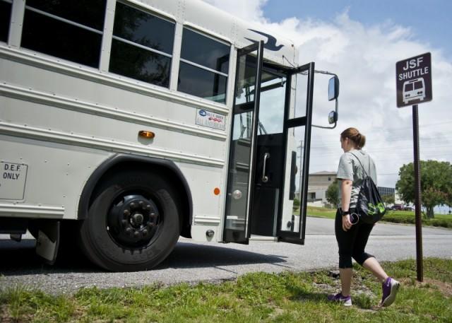 Base Shuttle Service - NS Mayport