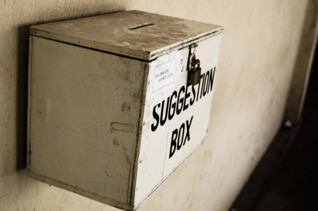 CO's Suggestion Box - NAF Atsugi