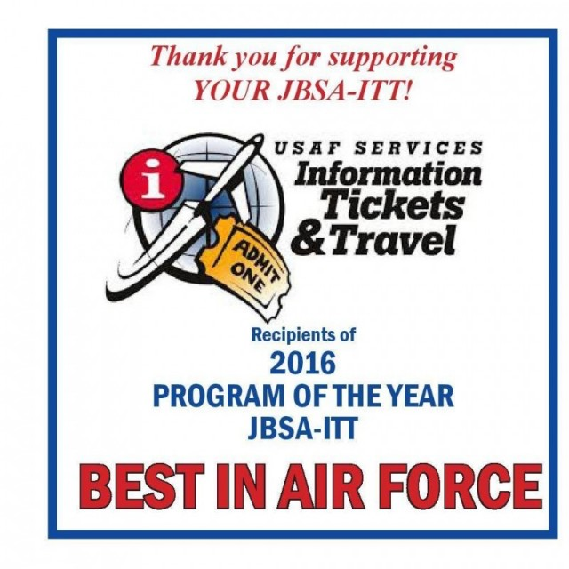 Information, Tickets and Travel - Joint Base San Antonio-Lackland