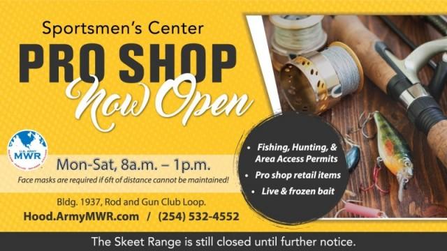 Sportsmen's Center Pro Shop - Fort Hood