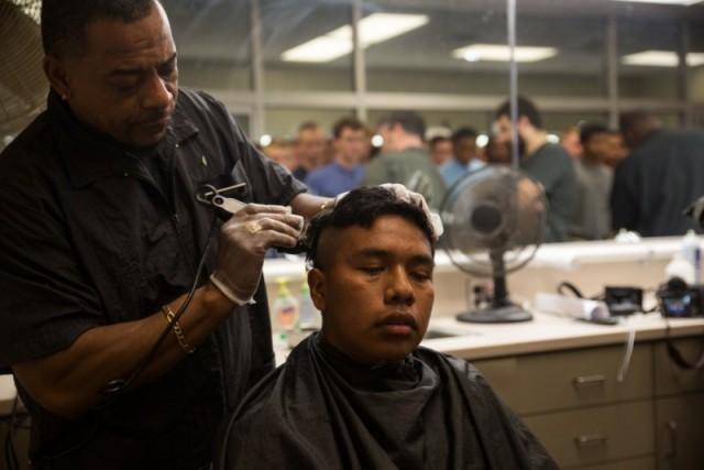 Barber Shop - MCRD Parris Island