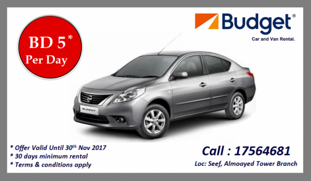 Budget Car Rental Bahrain