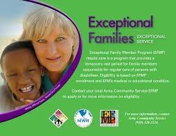 Exceptional Family Member Program- Yuma Proving Ground