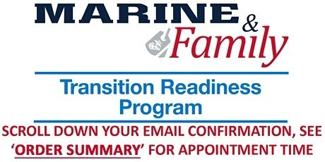Transition Readiness Program- Camp Pendleton