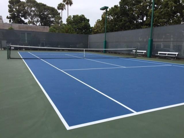 NB San Diego Tennis Court