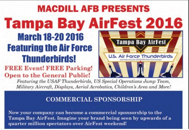 Commercial Sponsorship - MacDill AFB