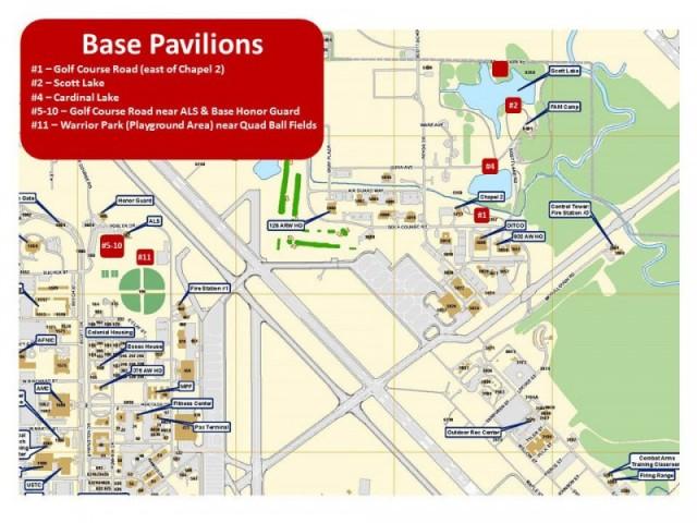 Picnic Pavilions - Scott Air Force Base