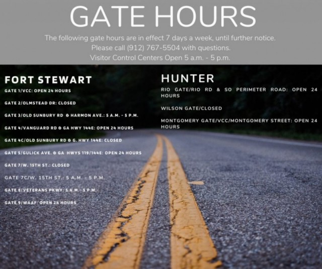 Visitor Control Center - Fort Stewart
