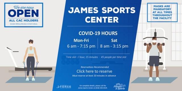 James Sports Center - Scott Air Force Base