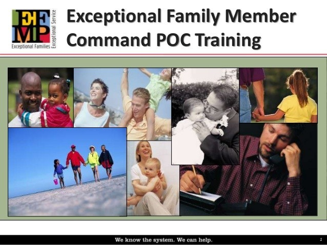 Command Support Programs - Exceptional Family Member POC Training