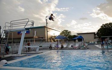 Yokota FSS Sakana Outdoor Pool