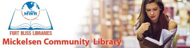 Mickelsen Community Library - Fort Bliss