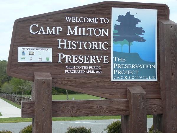 Camp Milton Historic Preserve - Jacksonville