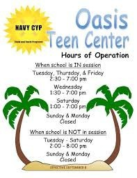 Oasis Teen Center- NAVSTA Guantanamo Bay