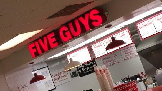 Five Guys Burgers & Fries - NAVSTA Norfolk