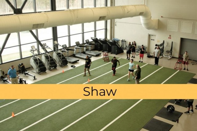 Shaw Physical Fitness Center - Fort Campbell