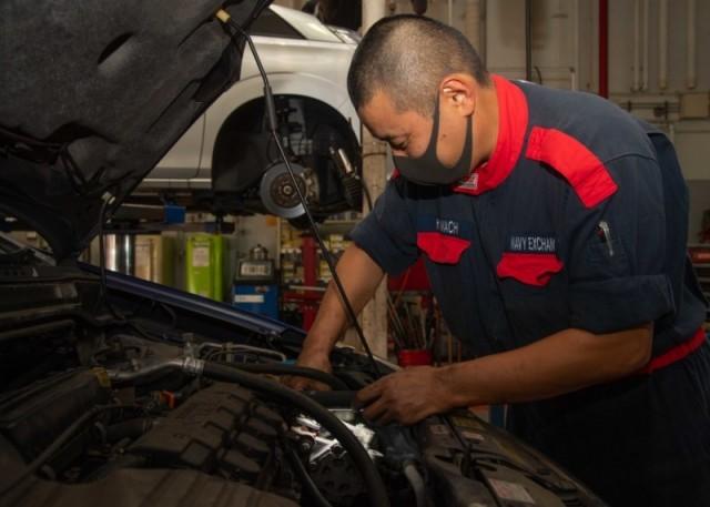 Auto Repair Shop - CFA Sasebo