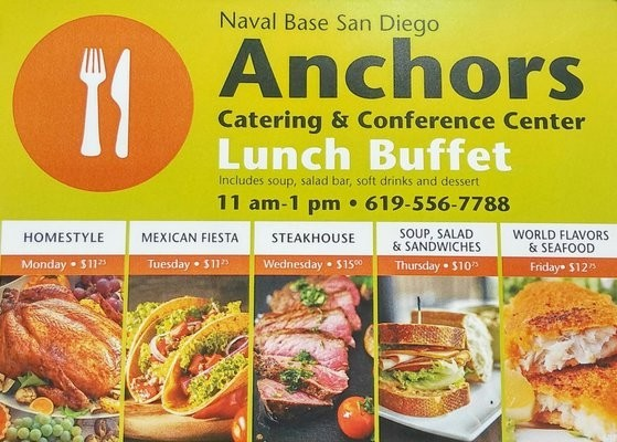 NB San Diego Anchors Catering