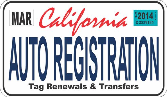 Auto Registration Service- MCRD San Diego