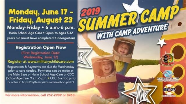 School Age Care & Teen Center Programs & Events