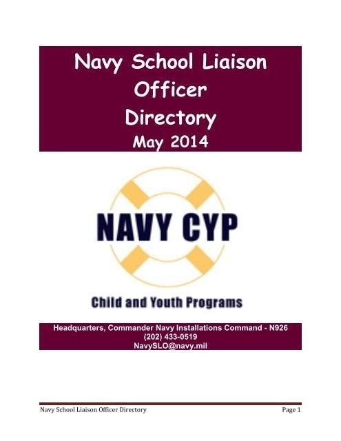 School Liaison Office- NAVSTA Guantanamo Bay