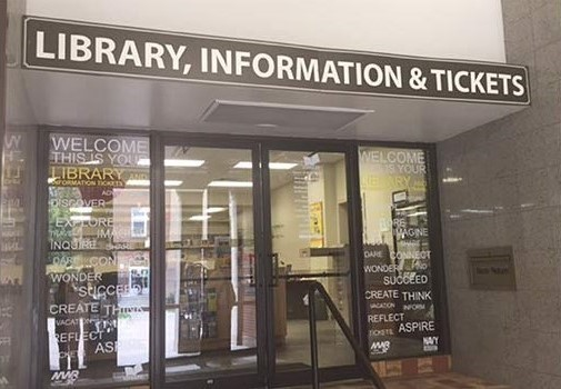 Library, Tickets and Information - NSB New London