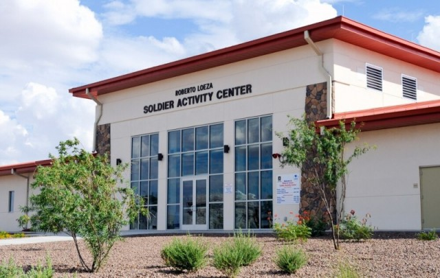 Soldier Activity Center - Fort Bliss